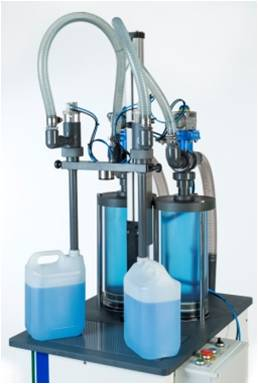 One or Two Head Bleach & Acid Filling Machine (500ml - 25 Litres)