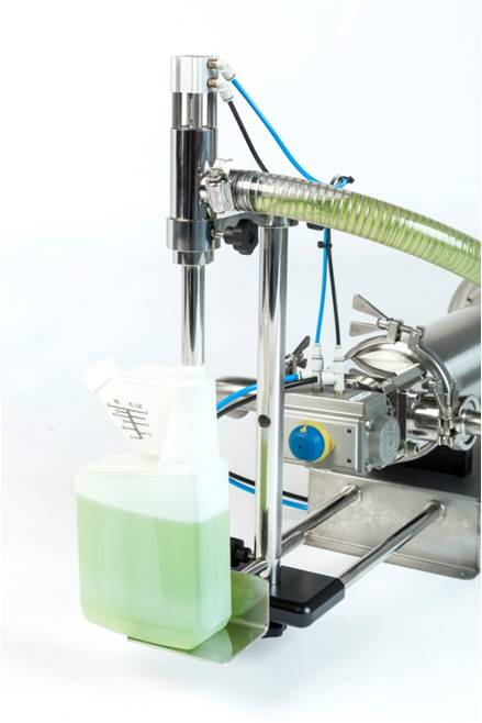 Single head volumetric filling machine (5ml - 1,300ml)